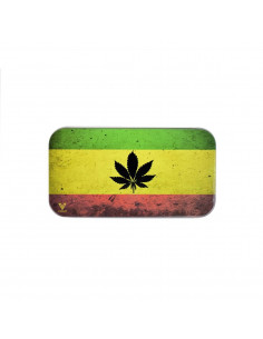 Metalowy schowek Syndicase Tin Box RASTA LEAF