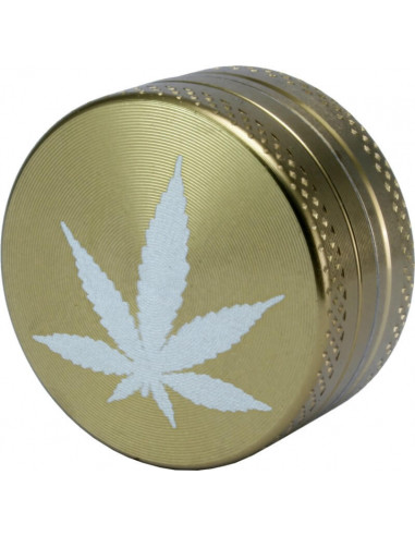 Drying grinder 2-piece metal, diameter 30 mm, 3 colors