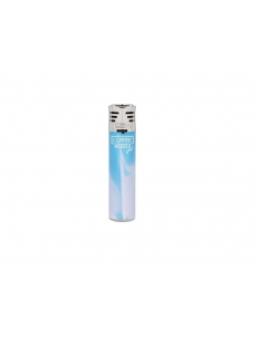 Zapalniczka Clipper wzór WHITE NEBULA Jet niebieski
