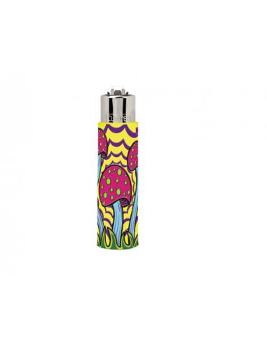 Zapalniczka Clipper wzór MUSHROOMS 4 gumowy case 1