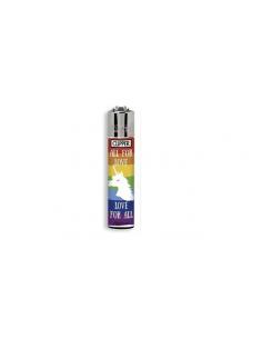 Zapalniczka Clipper wzór LOVE RAINBOW 1