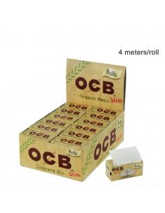 OCB Organic Hemp Rolls Slim - Bibułka w rolce 4 m