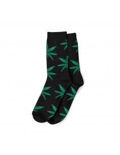 Skarpety męskie Cannabis Leaves Liście MJ rozm. 40-45 black