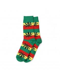 Skarpety damskie Cannabis Leaves rozm. 36-42 liście MJ rasta