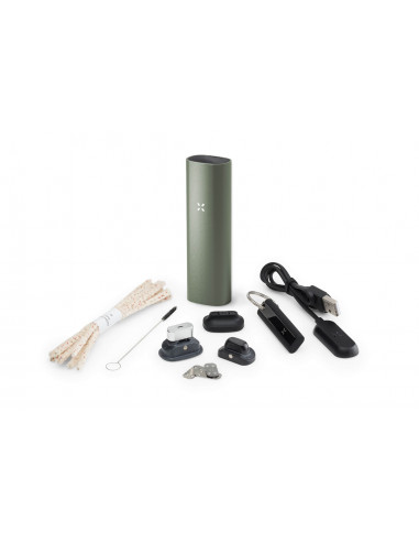 PAX 3 Complete Kit portable vaporizer for drying wax concentrates 2020 sage 1