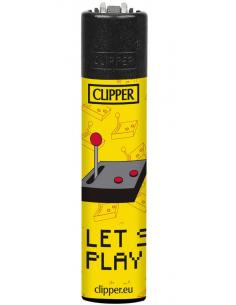 Zapalniczka Clipper wzór LETS PLAY 1