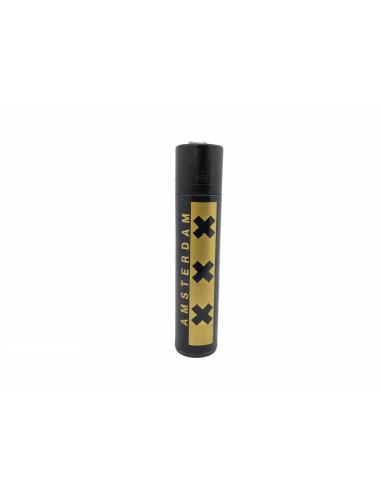 Clipper lighter AMSTERDAM XXX GOLD design