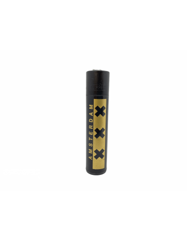 Zapalniczka Clipper wzór AMSTERDAM XXX GOLD