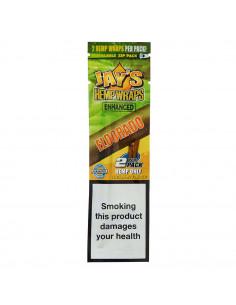 JUICY JAYS Hemp Blunt Wraps paper ELDORADO flavor. Pineapple