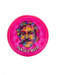 Grinder do suszu Pablo's Weed Mix 3 akrylowy średnica 60 mm różowy