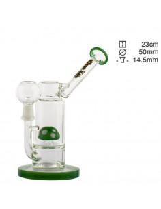 Bongo Thug Life Sidecar Green z perkolatorem wys. 23 cm szlif 14.5 mm