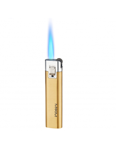 MAXIM POUSSIN burner for DynaVap Burner / Lighter Blue Gold flame