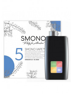 Smono 5 - Drying vaporizer with a video display