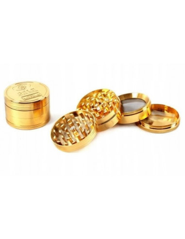 Golden 4-part dried grinder, diameter 50 mm
