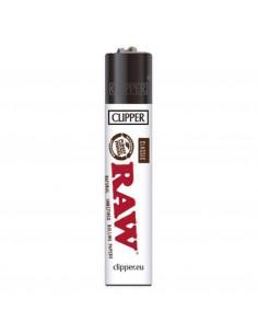 Zapalniczka Clipper wzór RAW WHITE