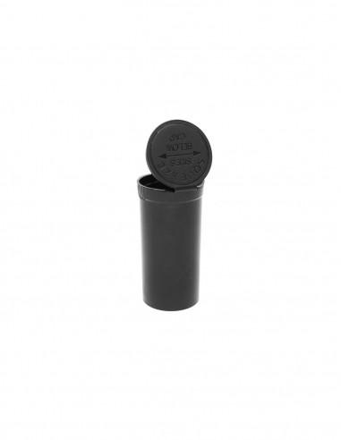 Unscented Black Pop Top storage box H 7 cm SMALL
