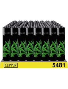 Clipper lighter, ALL LEAVES design