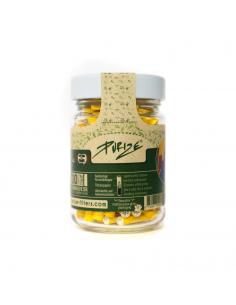 Filtry węglowe Purize XTRA Slim Yellow 100 szt. Szklany Słoik