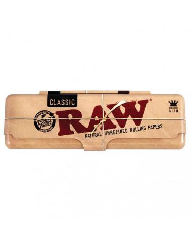 Schowek na bibułki RAW King Size Slim metalowy