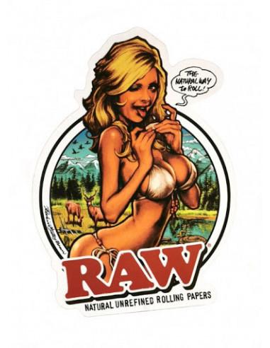 Naklejka RAW Girl Japan Sticker