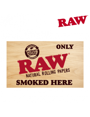Sticker RAW Only Smoked Here