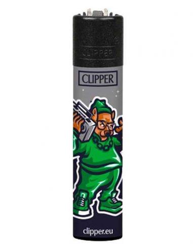 Clipper lighter GHETTO ANIMALS pattern 1