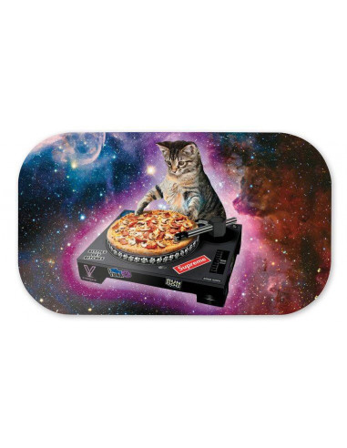 Magnetic joint tray lid V-SYNDICATE DJ CAT LARGE design