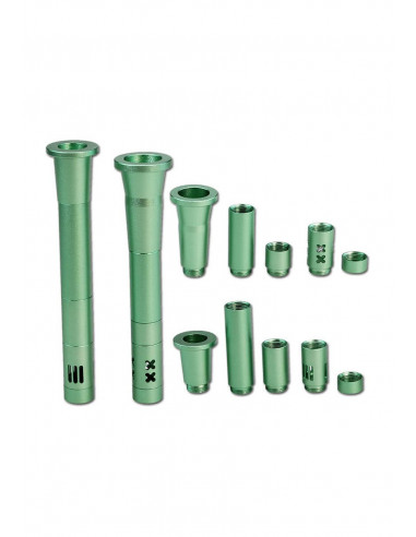 Set of universal adapters for bongs 19/14 and 19/19 different lengths