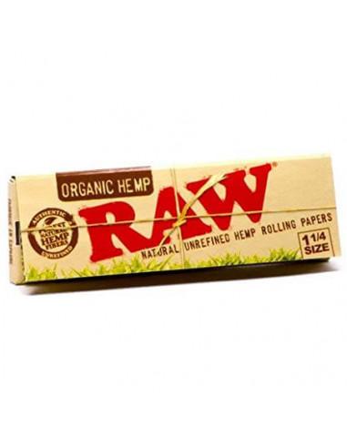 Tissues RAW Organic 1 1/4 50 Leaves 50 pcs.