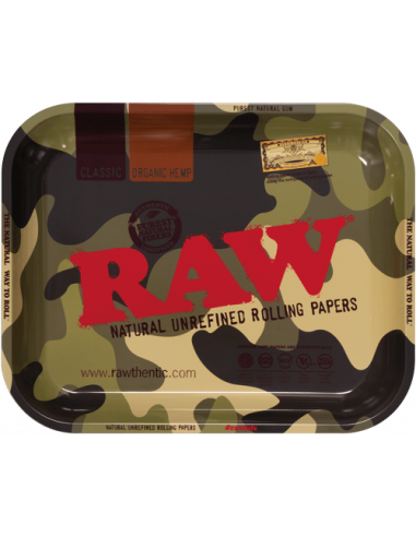 Tray for joints RAW Camouflage LARGE 34x27.5 cm