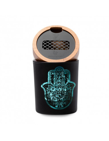 Smart Stash- Drying container with HAMSA grinder and humidifier 1