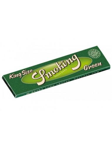 Bibułki konopne SMOKING Green Hemp King Size białe