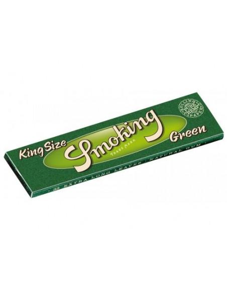 Bibułki SMOKING GREEN HEMP ECO king size