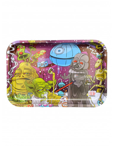 Tray for joints Dab Wars 30x20 cm, metal graphics Dunkees