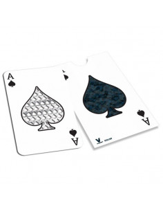 ACE OF SPADES grater card