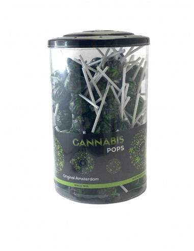 Lizak konopny Cannabis Space Pops