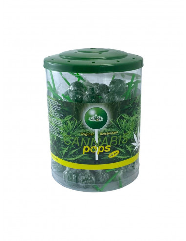 Lizak konopny Cannabis Pops 12g