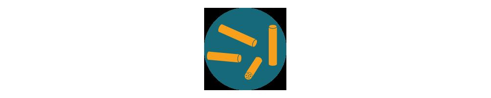 Aktywne filtry węglowe do skrętów. Ogranicz substancje smoliste!