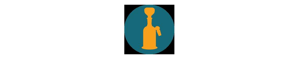 Precoolery i nakładki na bonga i fajki wodne